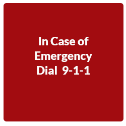 Dial 9-1-1 for emergencies